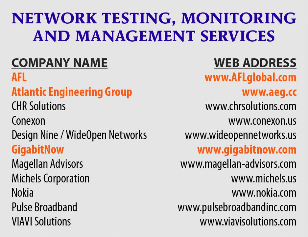 NETWORK PLANNING, SYSTEMS INTEGRATION, DESIGN, ENGINEERING, CONSTRUCTION, INSTALLATION
